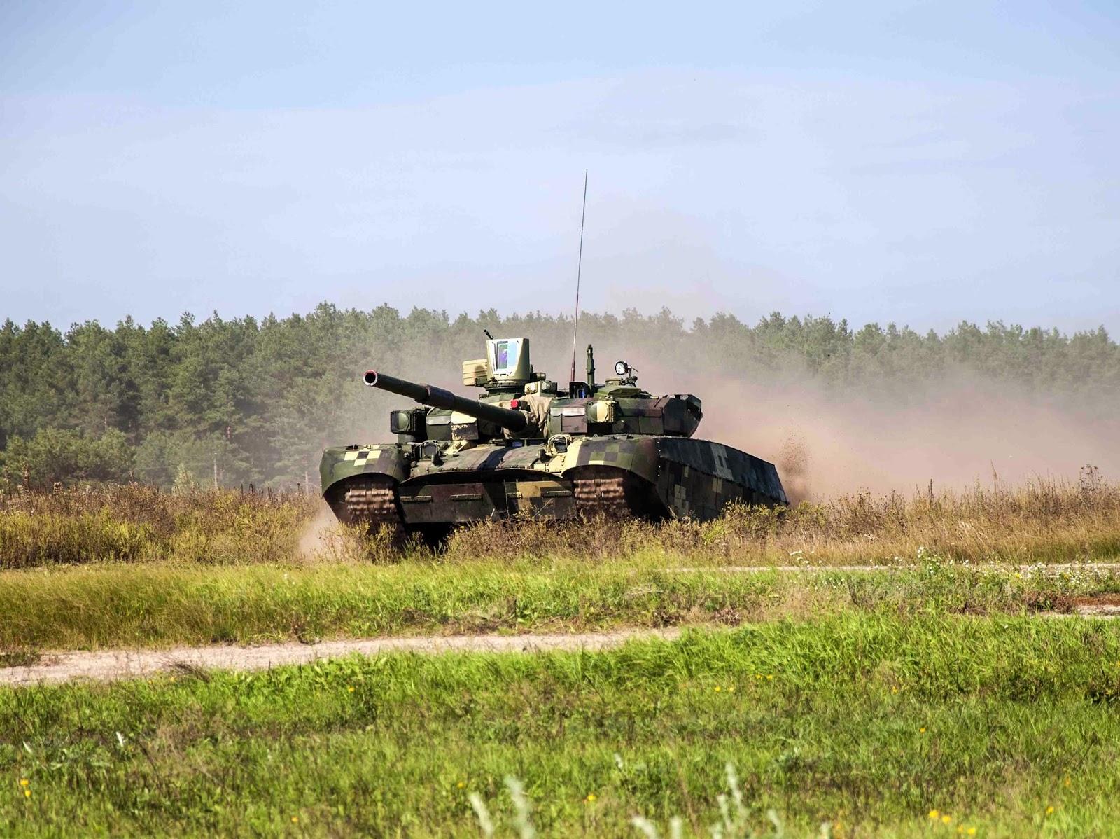 Glavcom: Танк Т-84 Оплот – гордость украинского ВПК Т 84 БМ Оплот