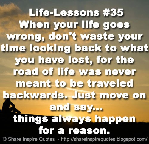 lesson things that never happen