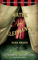Review of Water for Elephants by Sara Gruen published by Algonquin Books