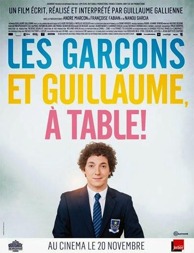 Ver Les garçons et Guillaume, à table (2013) Online
