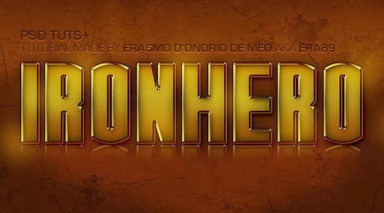 "Create an ""IronHero"" Text Effect in Photoshop"