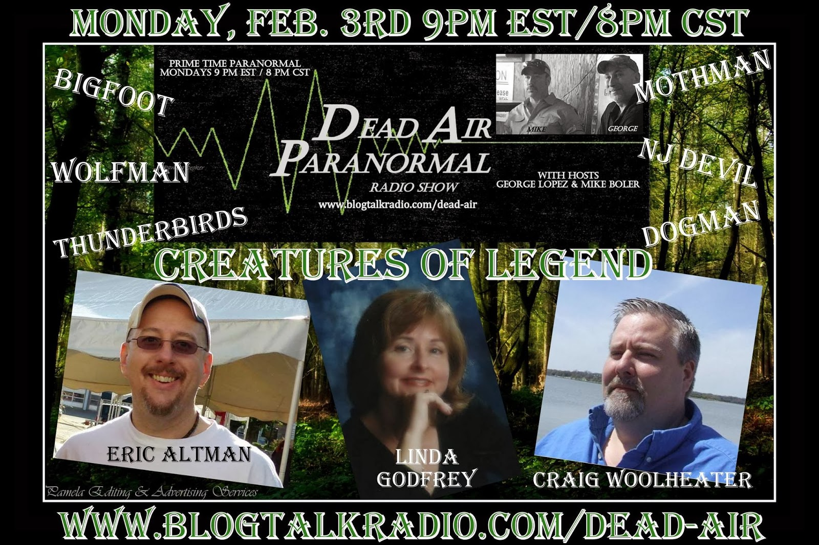 Dead Air Paranormal Creatures Of Legend