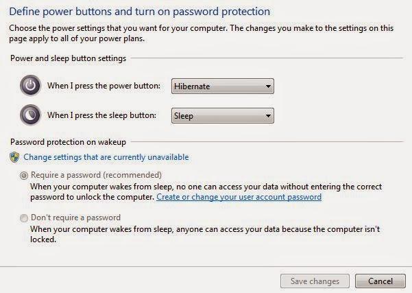 how to put windows 7 pc into hibernate
