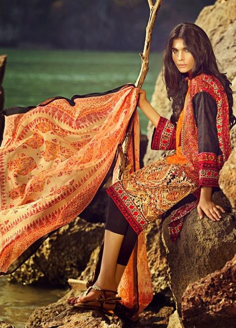Sana safinaz latest lawn 2015 collection