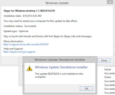 Joshua Wieder Skype Update Error