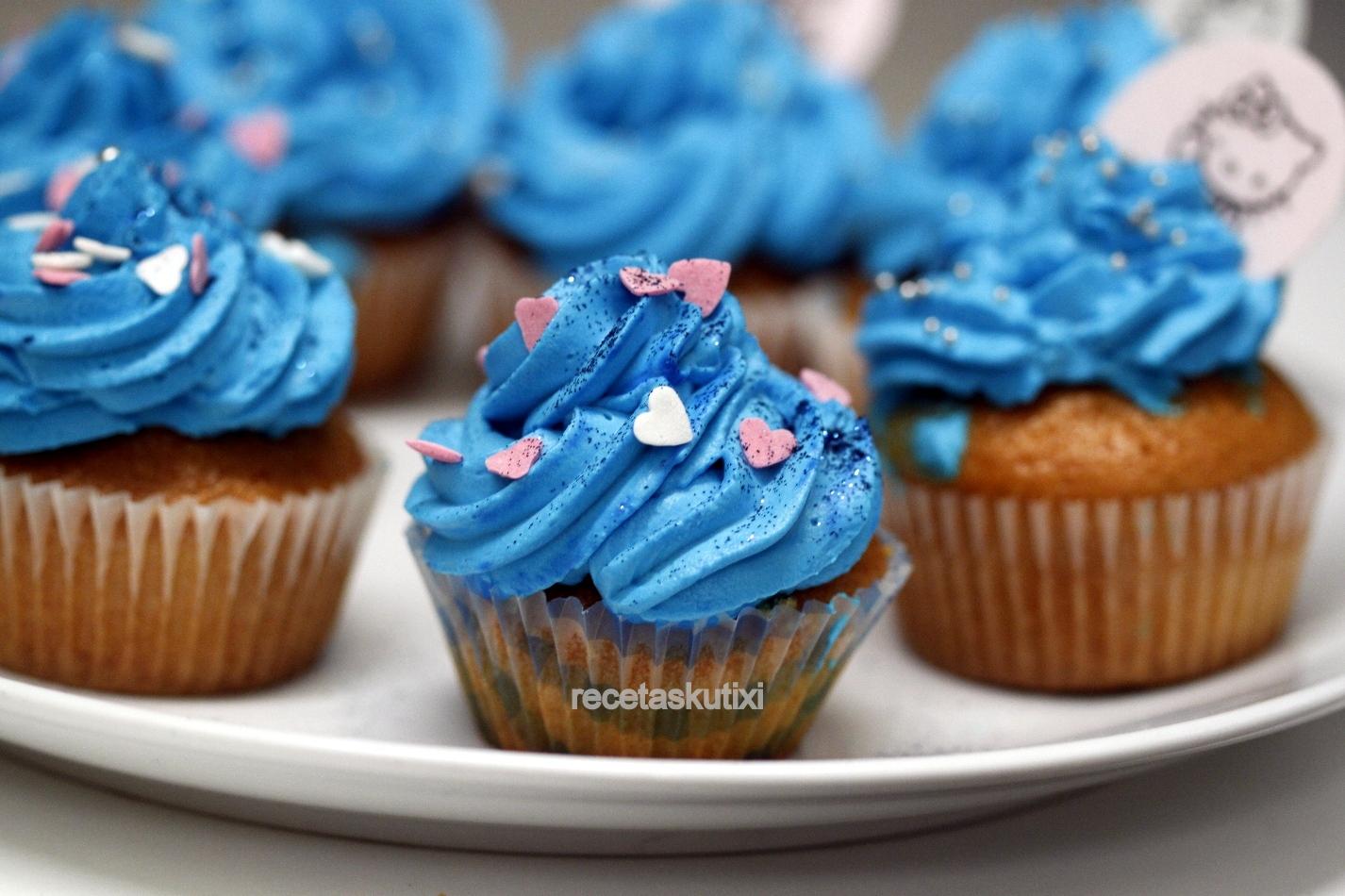 Recetaskutixi cupcakes o magdalenas decoradas - Madalenas o magdalenas ...