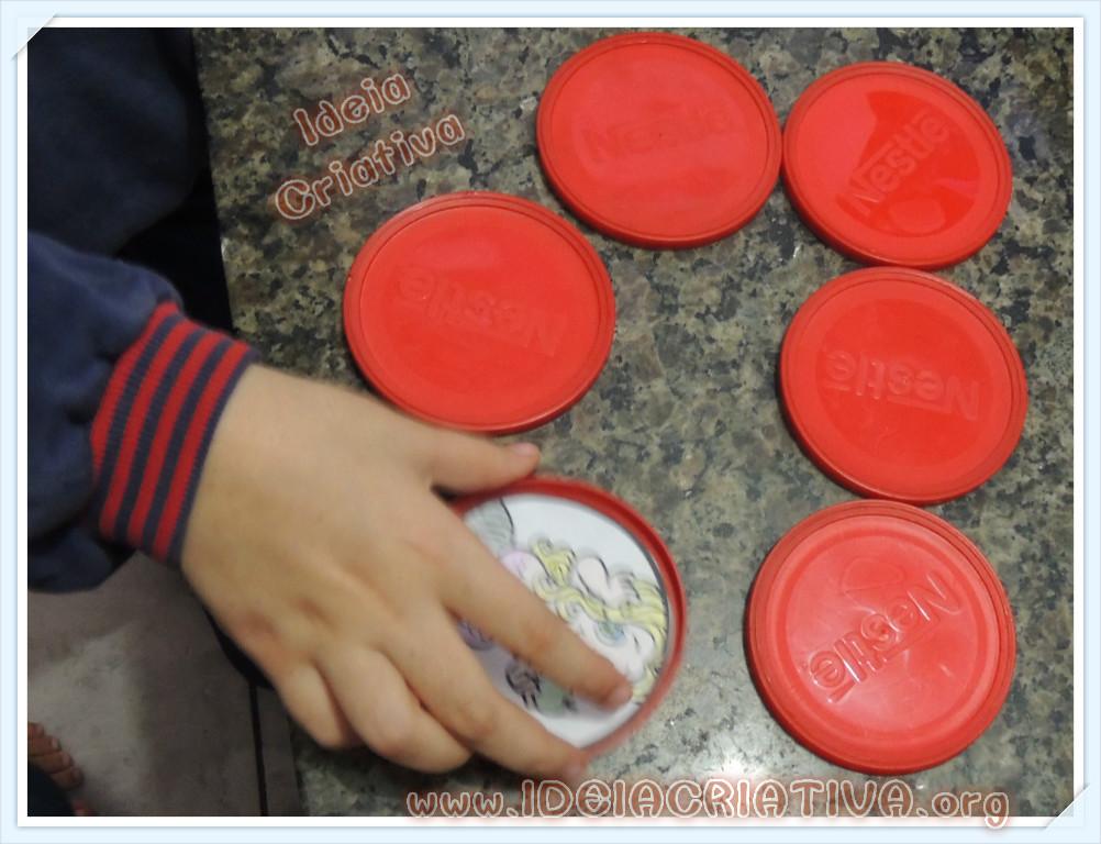 Jogo Memória Reciclagem Projeto Folclore