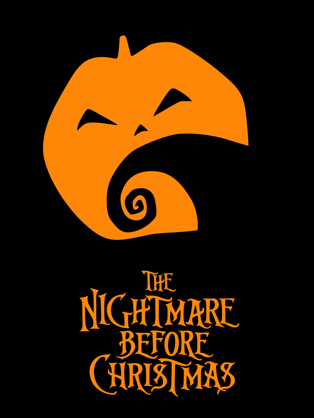 ... Nerfherder: Movie Poster Art: The Nightmare Before Christmas (1993
