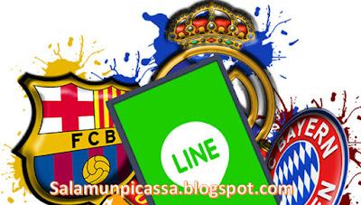Theme Line Klub Sepak Bola Terbaru