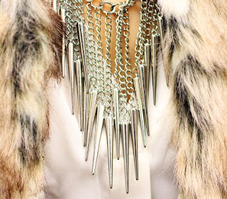 Urban Outfitters Spike Necklace
