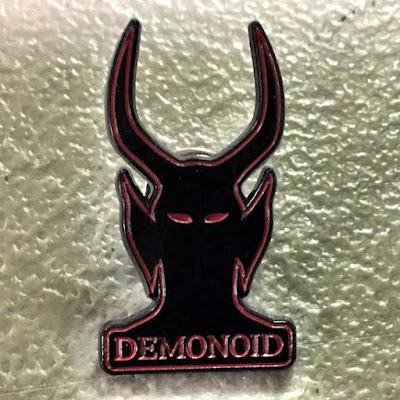 Demonoid Enamel Pin by Chris Garofalo x Grey Matter Art