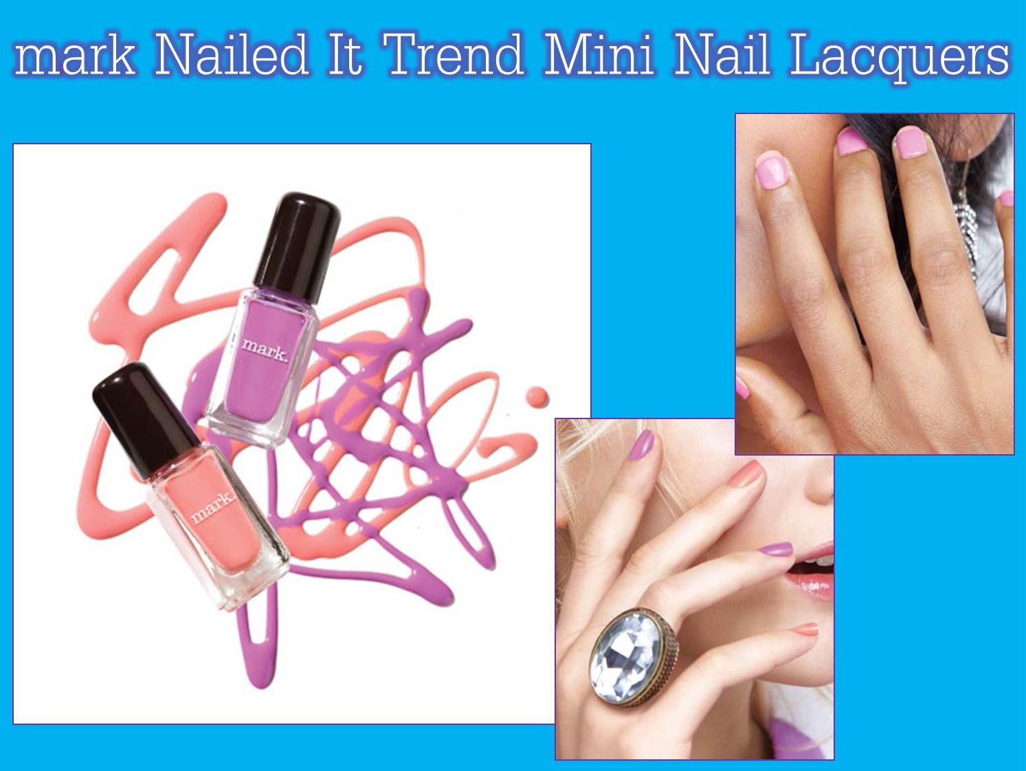Erica\'s Fashion & Beauty: Nailed It Trend Mini Nail Lacquers