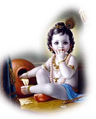 Lord 'Baby' Krishna