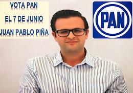 VOTA POR JUAN PABLO PIÑA