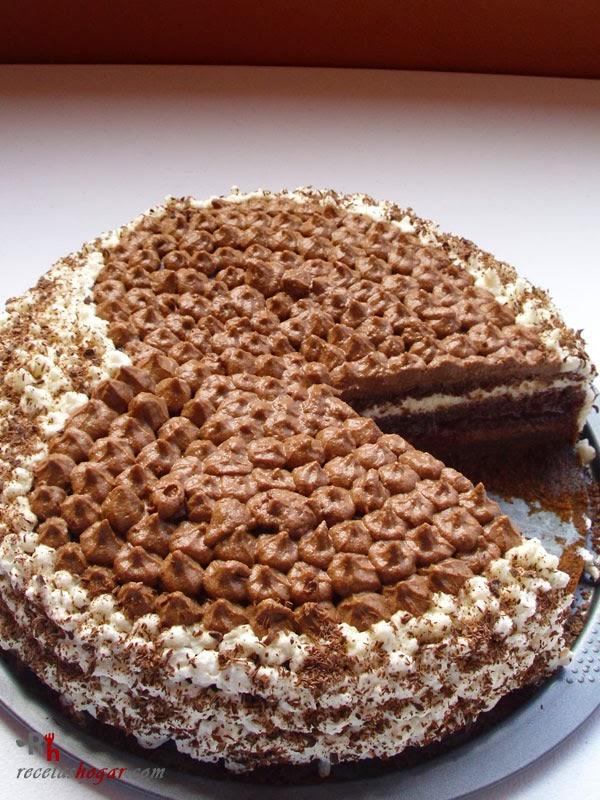 Tarta de trufa fresca (chocolate y nata)-portada-2
