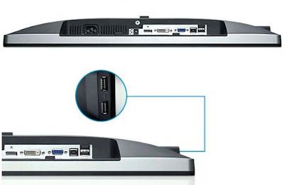 Dell UltraSharp U2312HM 23 inch LED E-IPS monitor Input port