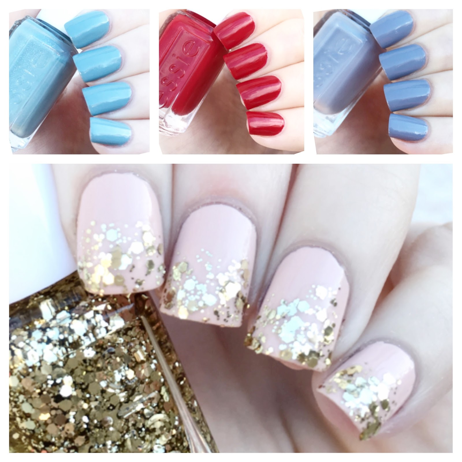 cat eyes & skinny jeans: essie Holiday Mini Nail Color Kit Swatches ...