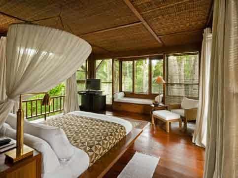 Interior Rumah Adat Bali - 02