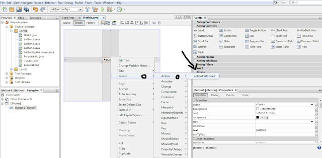 Bagaimana cara memasukan kode program pada java NetBeans IDE