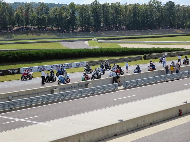 Barber Motorsports Park racetrack motorcycles