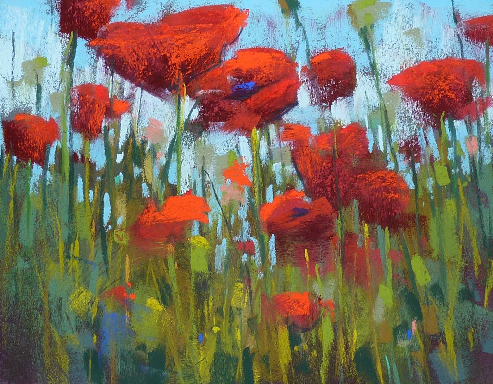 Painting My World Some Tips For Painting Poppies