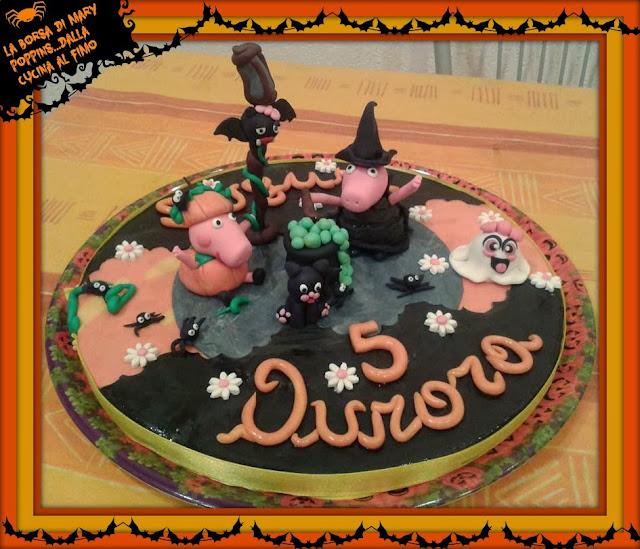 topper peppa pig halloween