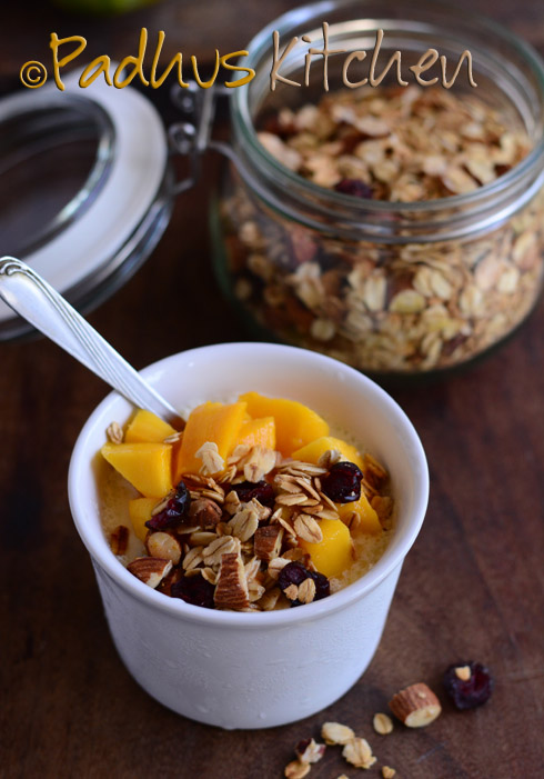 Healthy Homemade Granola-Basic Granola Recipe