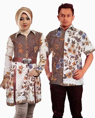 Contoh Baju Couple Batik