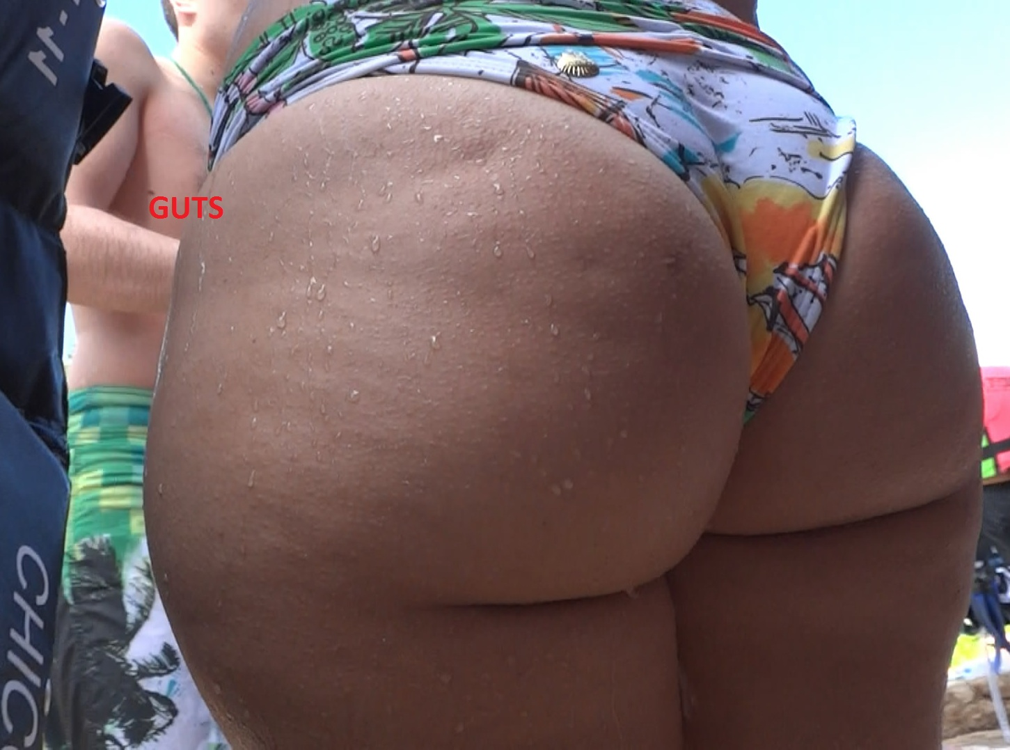 Big ass bikini video