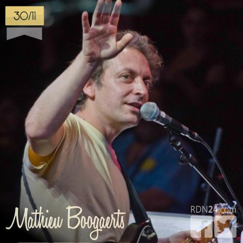 30 de noviembre | Mathieu Boogaerts | Info + vídeos