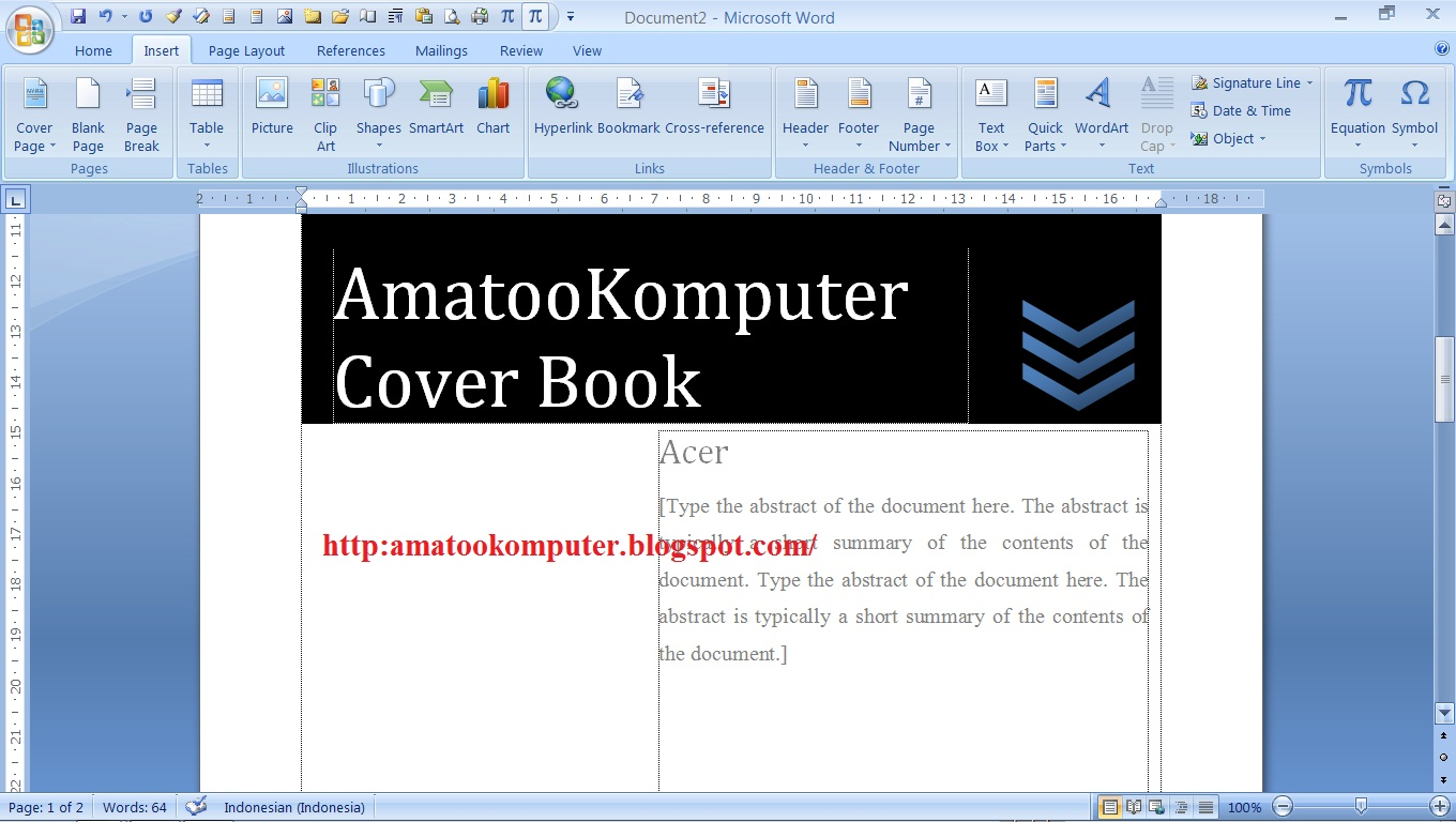... Microsoft Word 2007 dan Cara Membuat Multilevel List di Microsoft Word