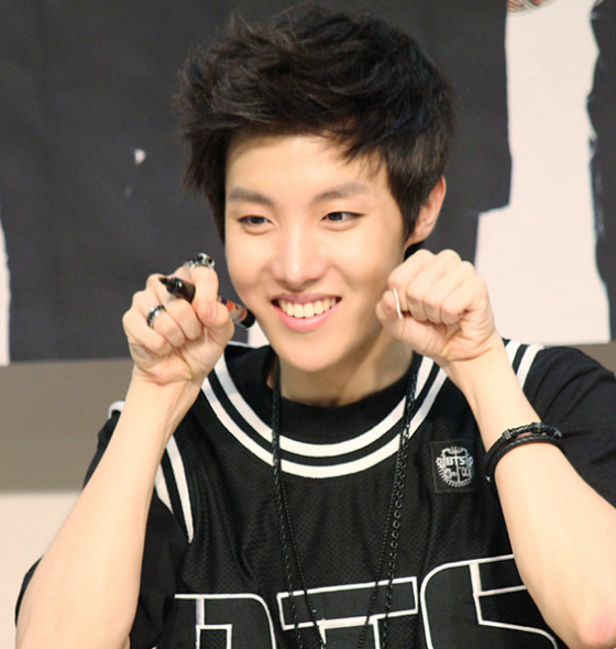 J Hope Smile Yes, yes their ...