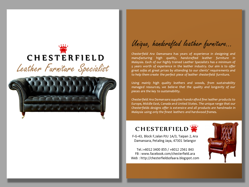 ROYALE CHESTERFIELD Chesterfield Sofa Manufacturer and Wholeseller Malaysia