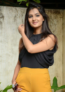 Actress Neha Deshpande Pictures at The Bells Telugu Movie Opening Event  93.jpg