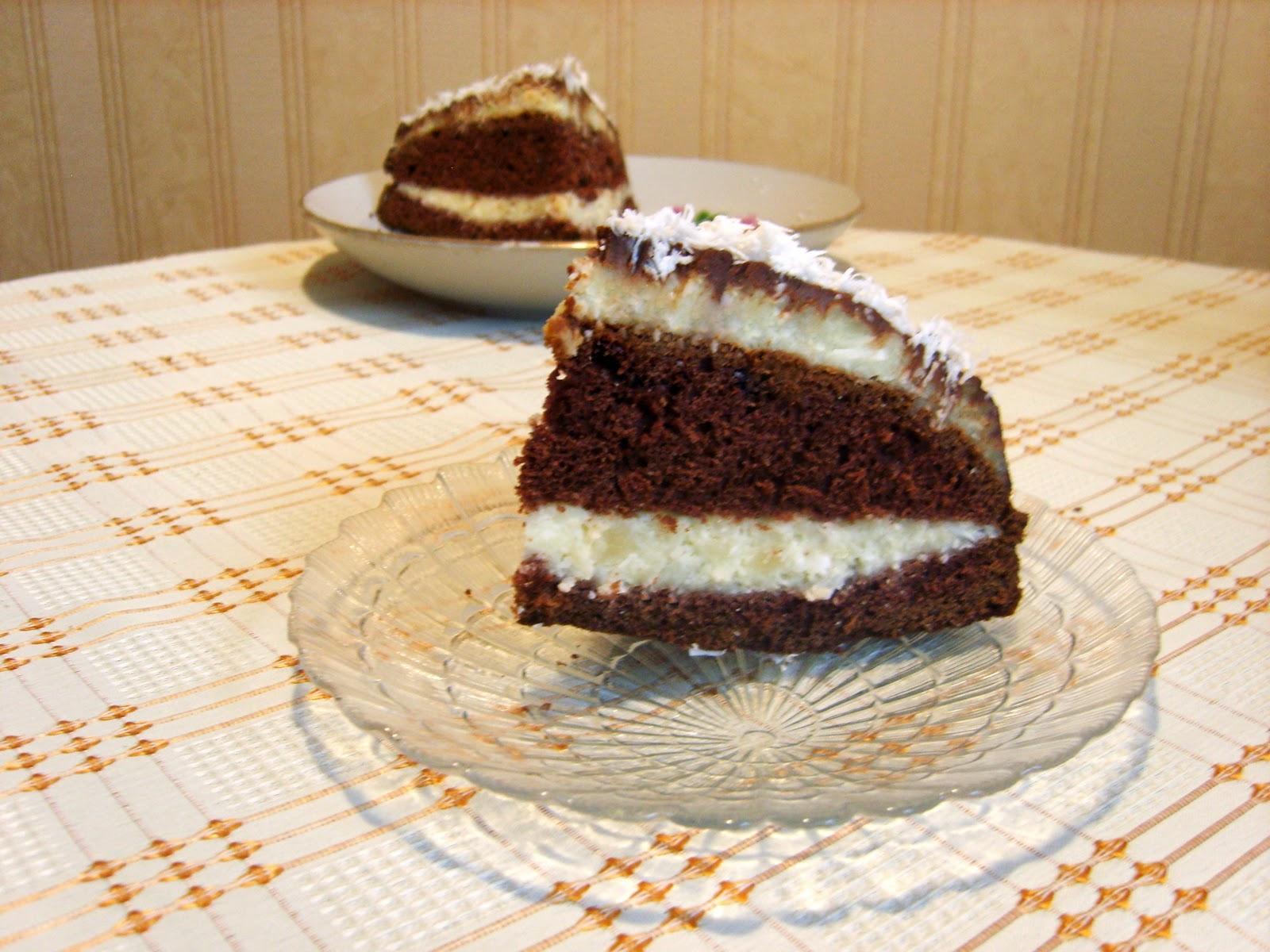 Рецепт торта Баунти : пошагово с фото