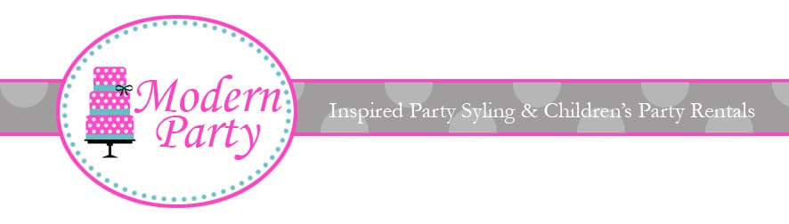 Modern Party- Party Styling