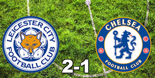 Leicester City 2-1 Chelsea