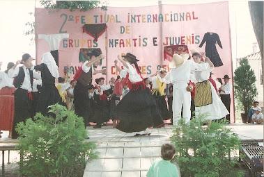 II Festival Internacional de Grupos Infantis e Juvenis De Danças e Cantares Regionais [1992]