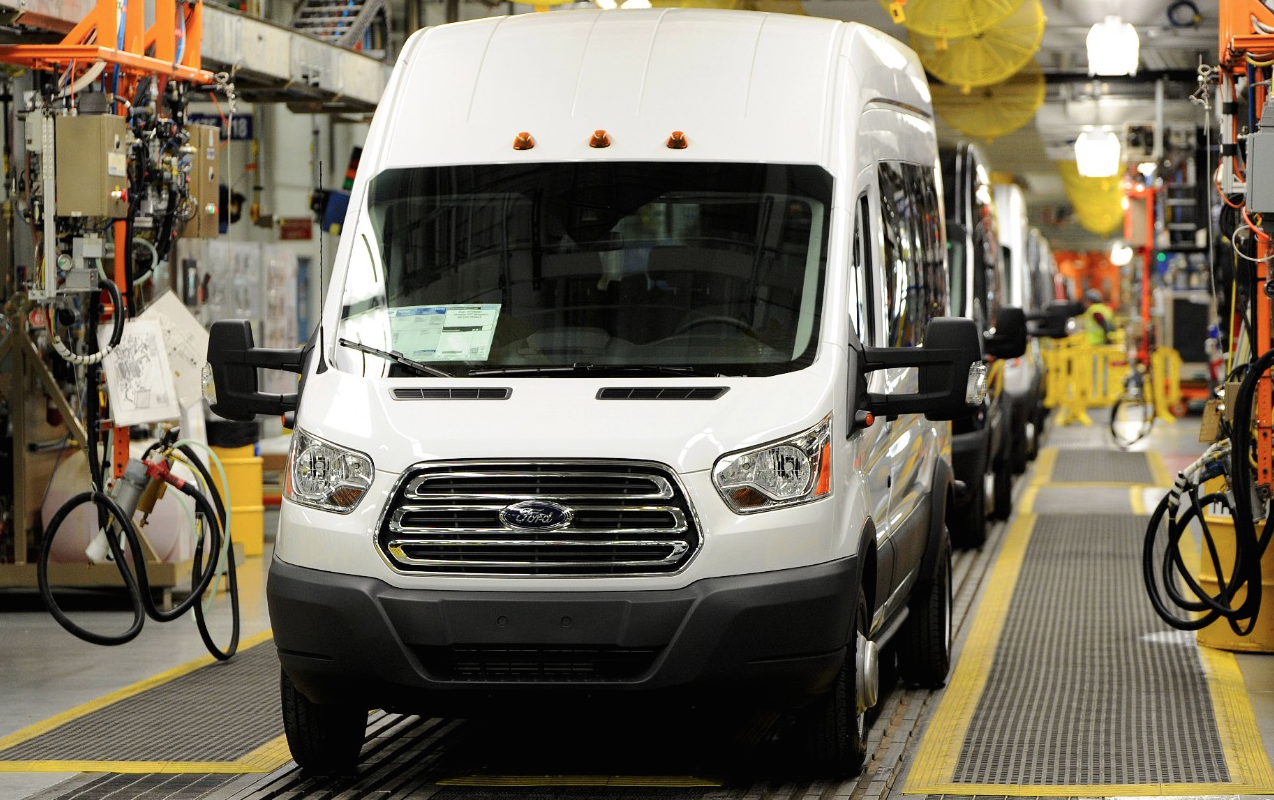 2014 Ford Transit Kansas City factory