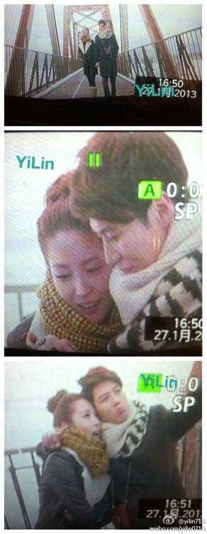 Screencaps of Taemin in Boa's Disturbance mv 4
