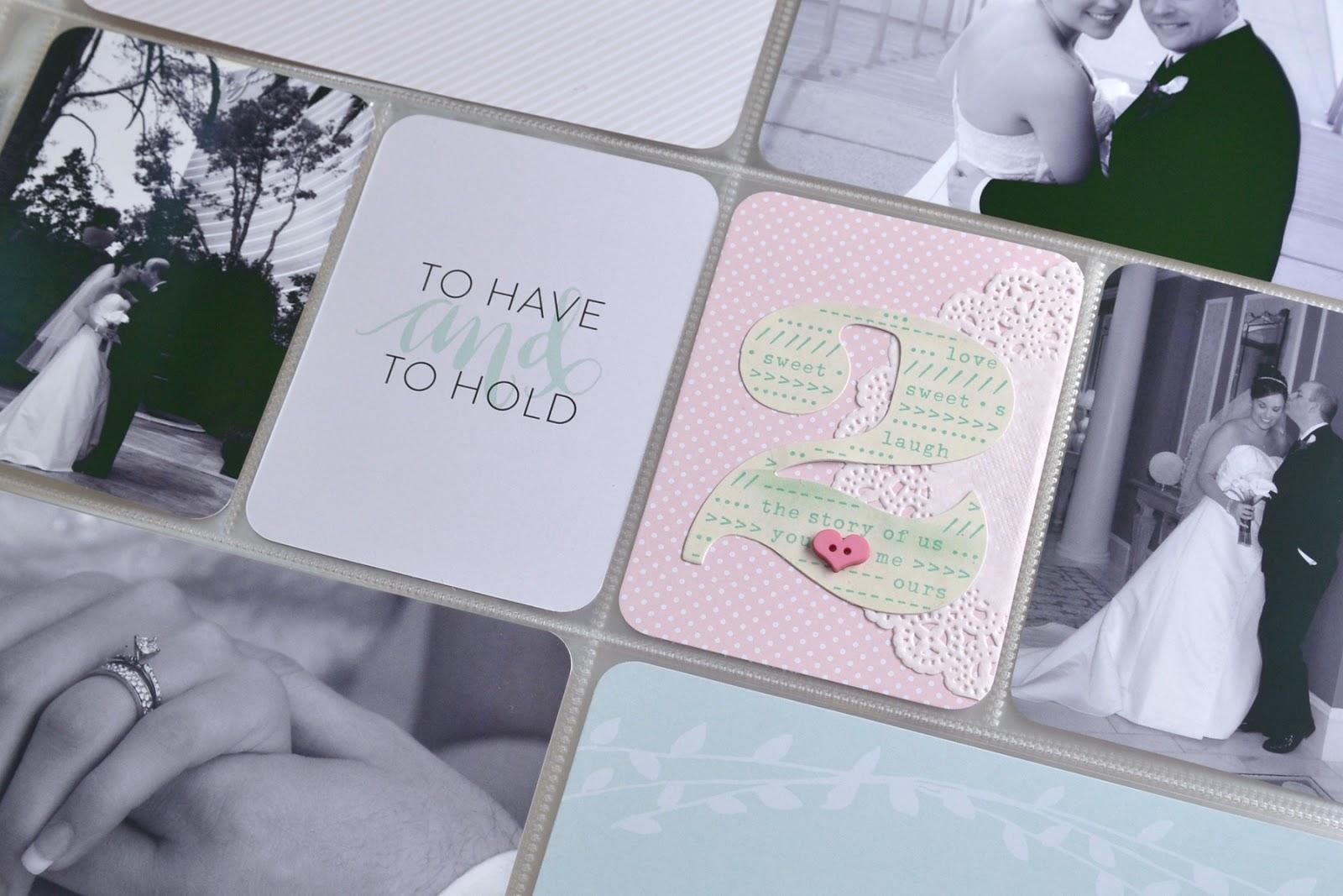 A Vegas Girl at Heart: Memory Keeping: Wedding Project Life Album ...