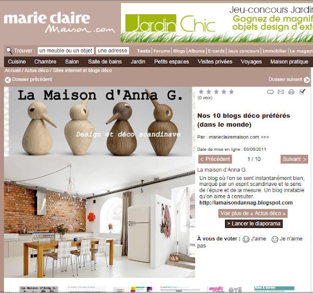 Merci Marie Claire Maison