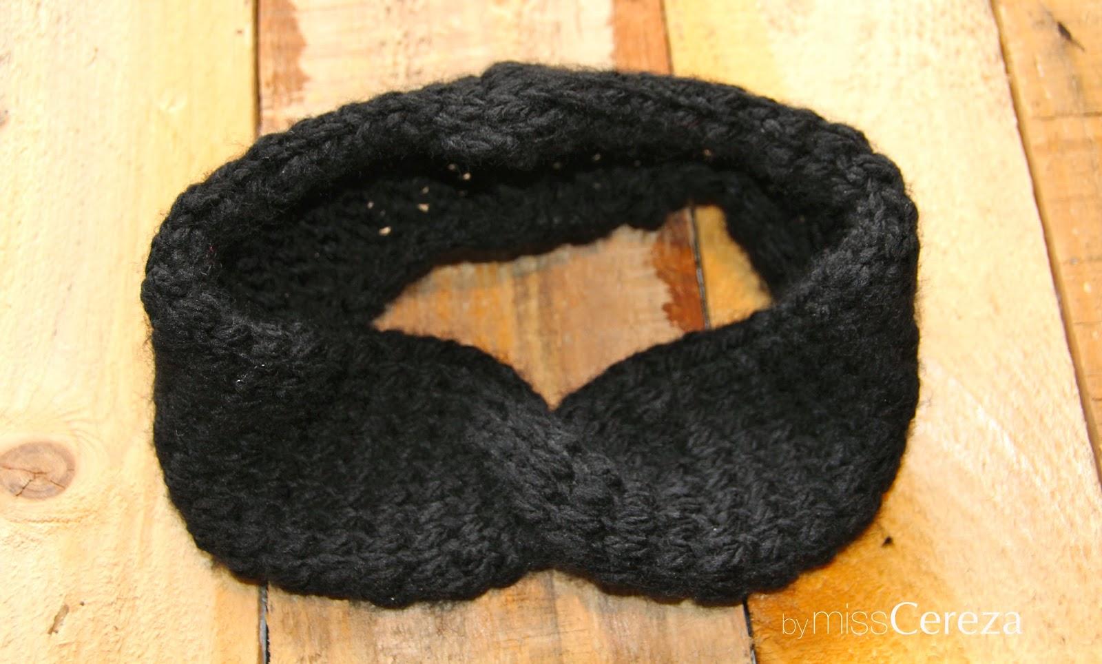 diy diadema de lana