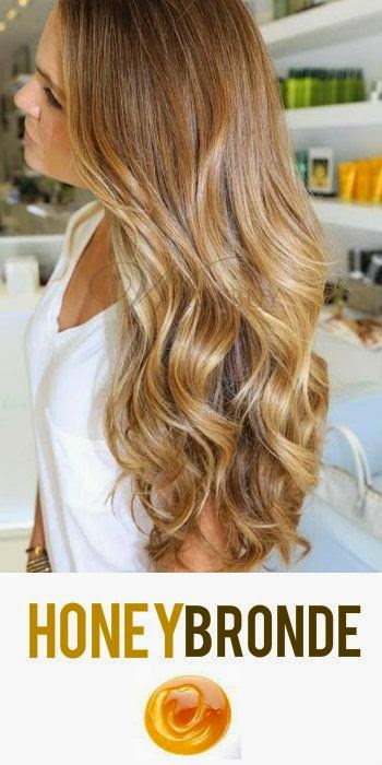 Honey Bronde Hair Color