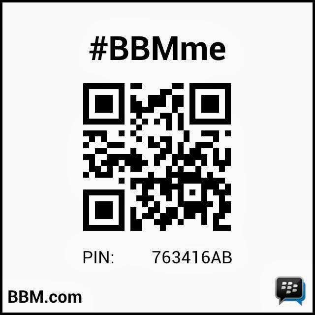 kontak via BBM