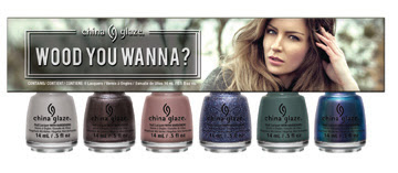 China Glaze The Great Outdoors: Wood You Wanna? 6-piece set