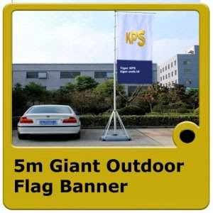5m Giant Outdoor Flag Banner