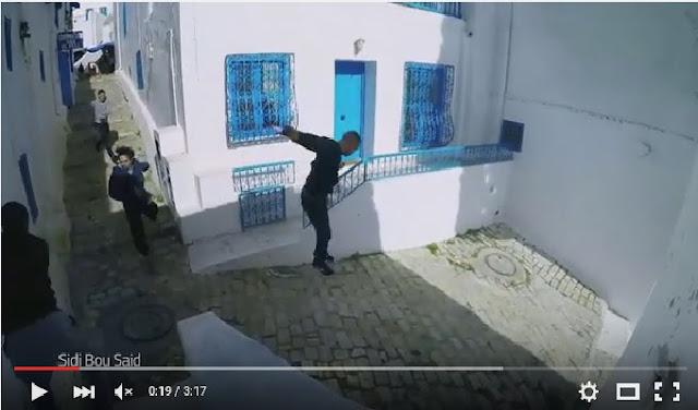 L'Office National du Tourisme Tunisien a réalisé une vidéo promotionnelle avec le groupe Yamakasi sous la direction de Malik Dhiouf -co fondateur de l'art du déplacement.  Les adeptes de cette discipline, rebaptisée « Parkour » par certains, ont parcouru la Tunisie depuis le village de Sidi Bou Said et les Thermes d'Antonin en passant par la Kasbah El Kef pour parvenir à la médina de Tozeur et enfin le Site de Star Wars à Ong Jmel Nefta. Un parcours magnifique qui a permis de mettre en valeur la richesse du paysage naturel, architectural et culturel de la Tunisie dans un cadre dynamique et actif qui est celui de l'art du déplacement.