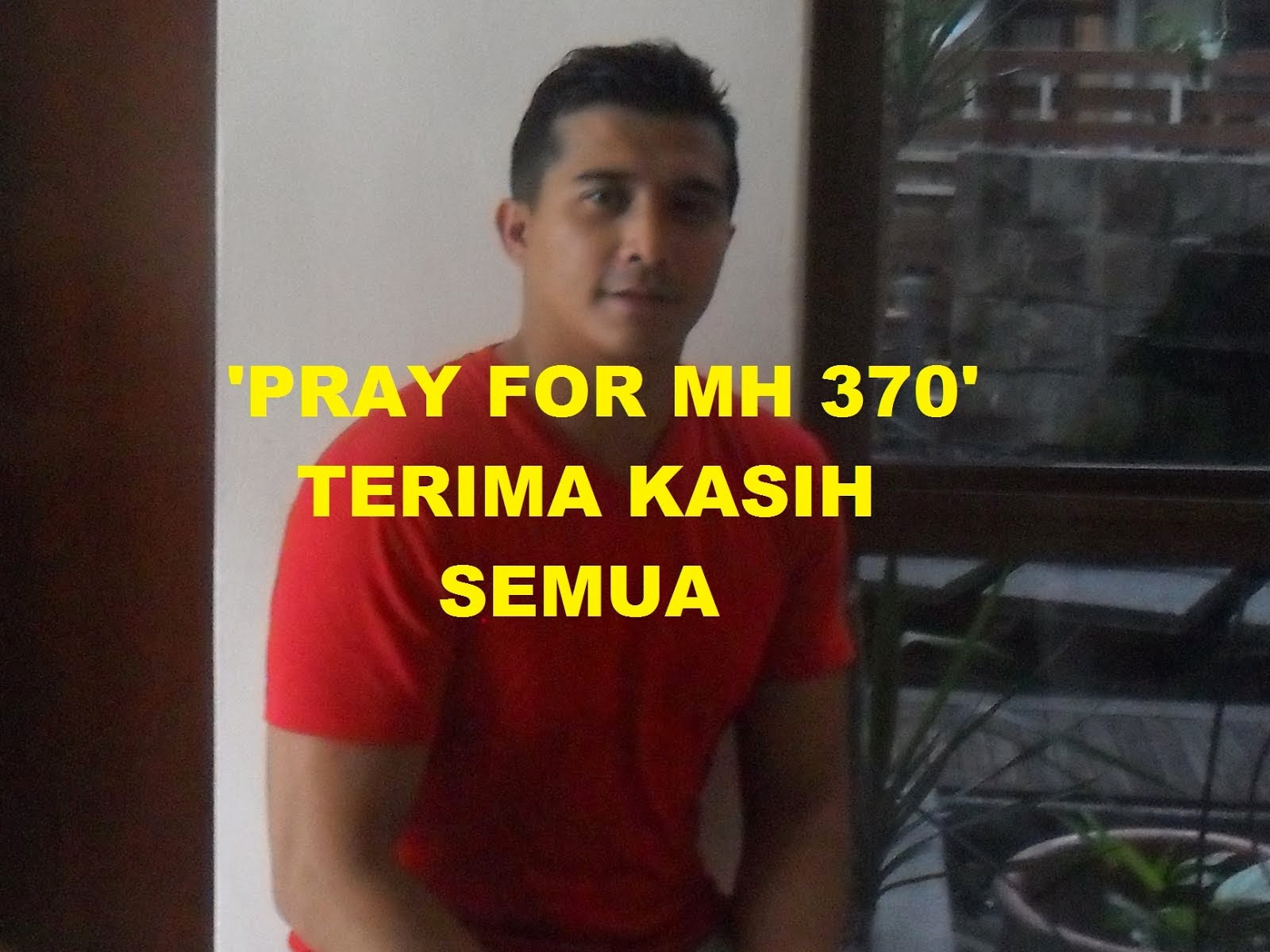 'Pray For MH 370'