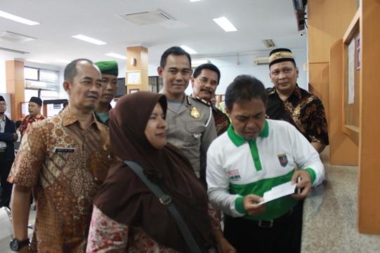Walikota Bantu Sosialisasikan Program BBN Gratis Samsat